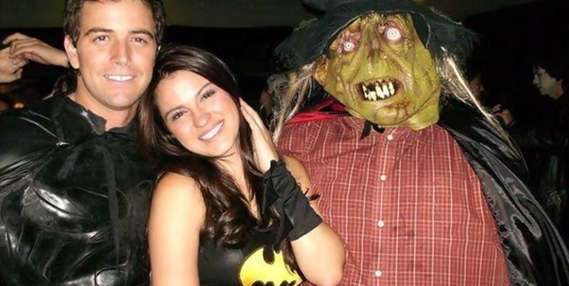 Maite festejou o Halloween na festa de Jessy