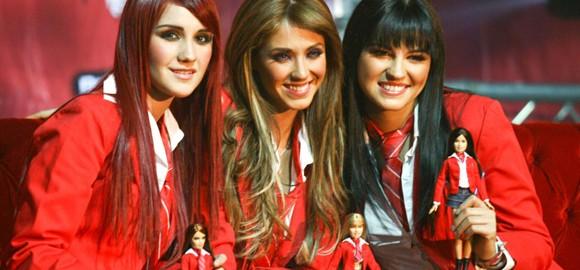 Anahí, Maite e Dulce María, um trio de rainhas