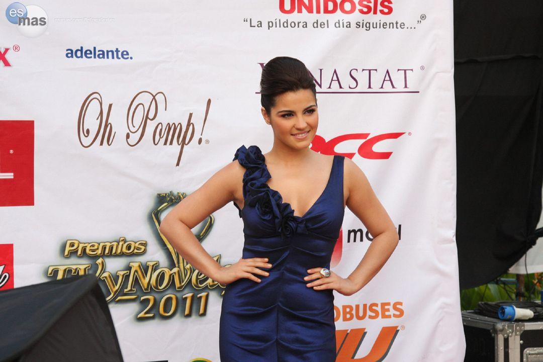 Maite Perroni indicada em cinco categorias nos Premios TVyNovelas 2012
