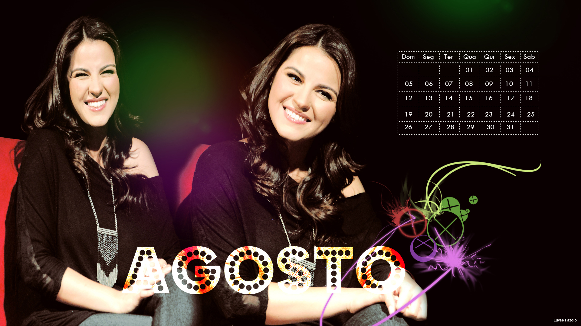 Especial: Calendário Maite Perroni 2012
