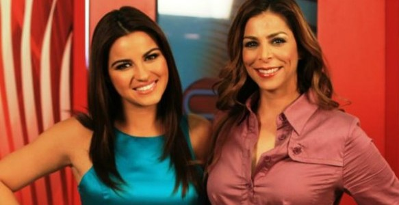 "Video: Maite Perroni no programa ""Sal y Pimienta"""