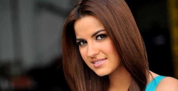 Maite Perroni é a madrinha do canal Tlnovelas da Univision