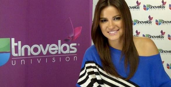 Maite Perroni quer que você se apaixone por Univision Tlnovelas