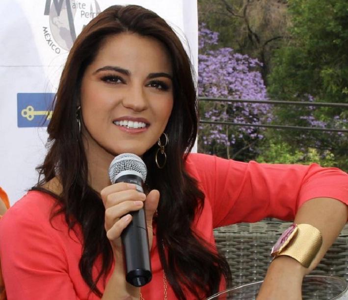 Maite Perroni viverá uma jornalista de esportes em 'Cachito de Cielo'