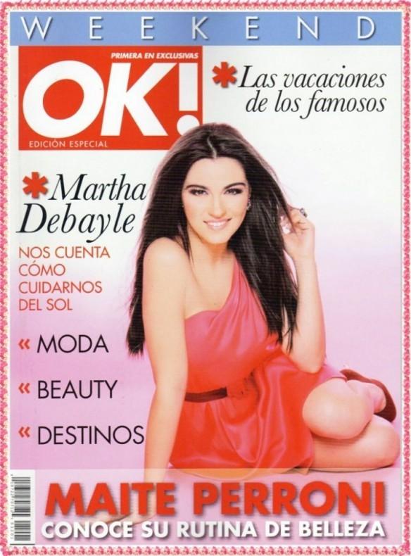 Maite Perroni é capa da edição especial da Revista OK!
