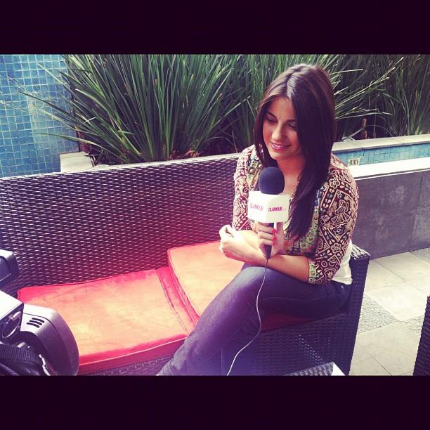 Fotos: Maite Perroni em entrevista para Glamour
