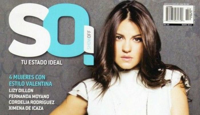 Maite Perroni é capa da revista SO! de maio, confira os scans!