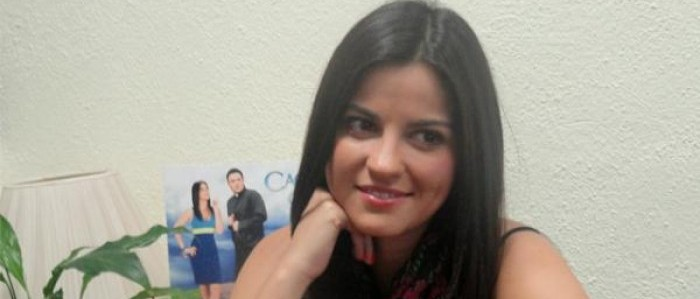 "Maite Perroni no video chat de ""Cachito de Cielo"""