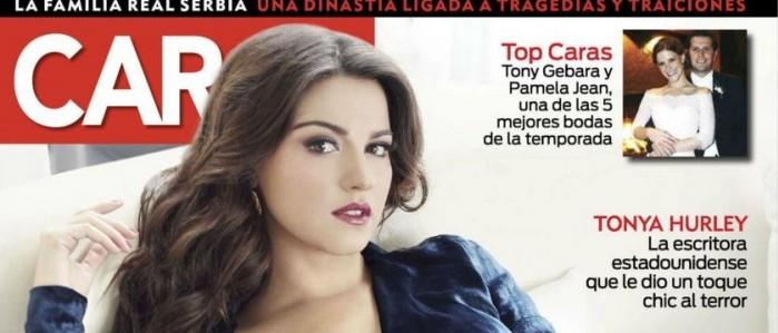 Scans: Maite Perroni capa da Revista Caras MX
