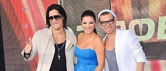 Chino e Nacho querem dueto com Maite Perroni
