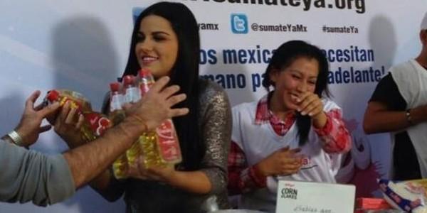 Video: Maite Perroni Súmate Ya em Sabadazo