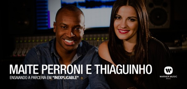 Áudio: Ouça a canção 'Inexplicable' Maite Perroni e Thiaguinho