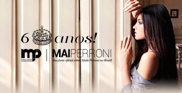 Obrigado, Perronitos, pelos 6 anos de MaiPerroni!
