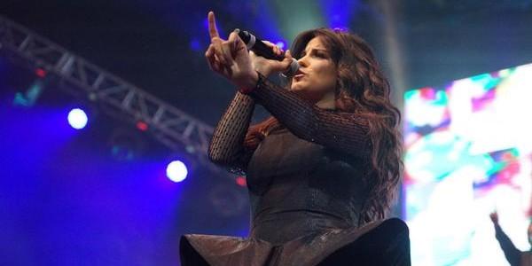 Crónica e imagens de Maite Perroni no concerto de 06 de novembro, na cidade do México.