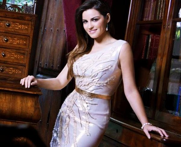 Vídeo: Maite Perroni nos backstages da sessão de fotos para a revista Hola!