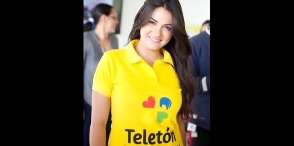 Vídeo: Maite Perroni fala de sua visita ao centro do Teleton Colombia e de seu 'Eclipse de Luna'