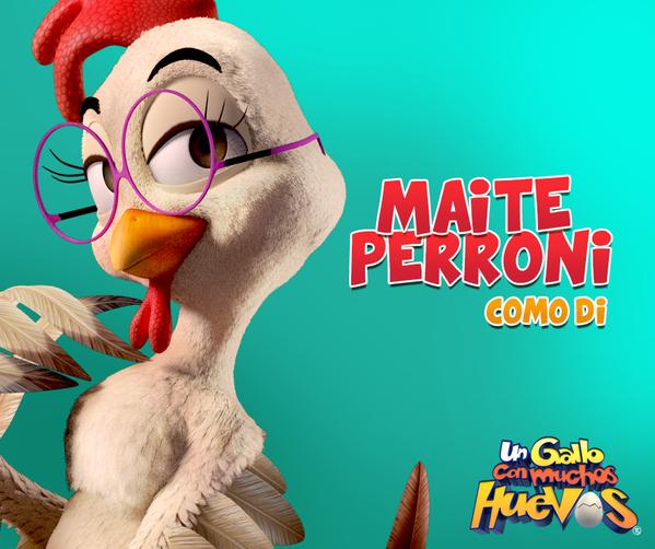 Vídeo: Maite Perroni fala sobre a animação ' Un Gallo Con Mucho Huevos'