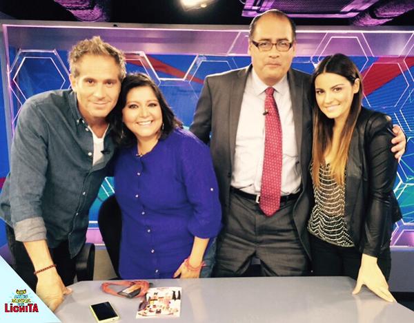 Vídeo: Maite Perroni e Arath de La Torre no programa 'Función TV'