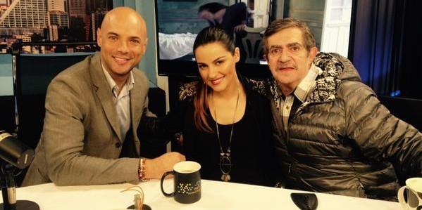 Vídeo: Maite Perroni e Flaco Ibañez em entrevista com Javier Poza