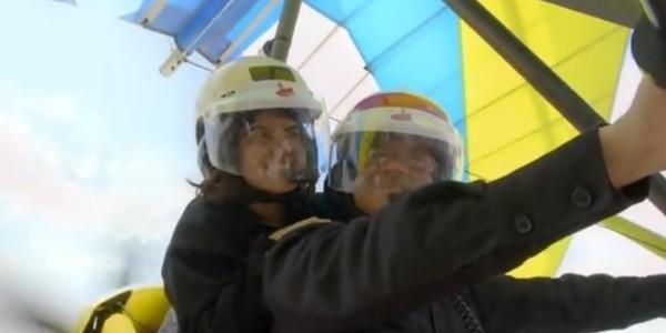 Vídeo: Maite Perroni e Arath de La Torre voam de avião em 'Antes Muerta Que Lichita'