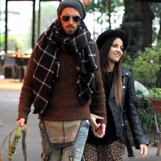 Maite Perroni em romântico passeio com seu namorado