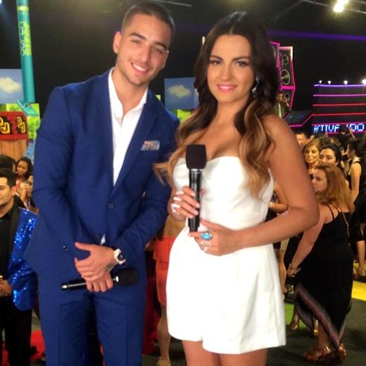Maite Perroni será parceira de Maluma em 'La Voz Kids'