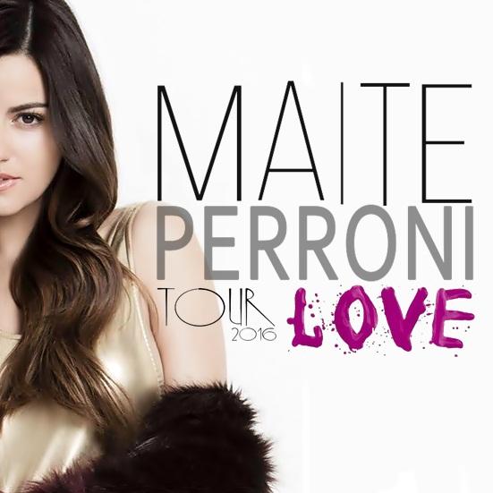 Maite Perroni Tour Love: Datas de Curitiba e Rio de Janeiro foram alteradas