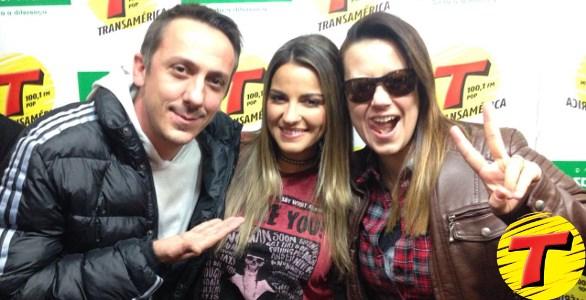 Áudio: Maite Perroni na rádio Transamérica