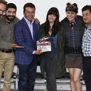 Maite Perroni na coletiva de imprensa do filme 'Dibujando El Cielo'
