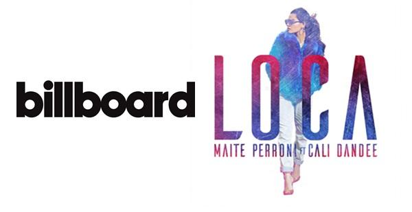 'Loca' de Maite Perroni entra para a lista da Billboard