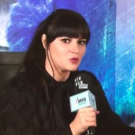 Maite Perroni em entrevista para 'Bla Bla Show'