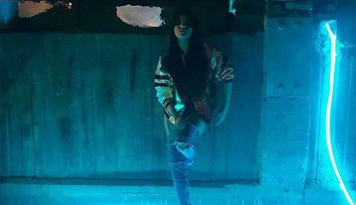 Maite Perroni grava clipe em 'La Lagunilla'