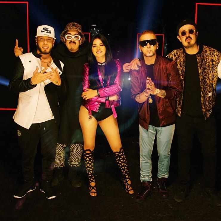 Maite Perroni grava vídeo de 'Como Yo Te Quiero' seu novo single com Alexis y Fido
